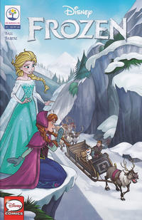 Key Issue cover 3 for FROZEN