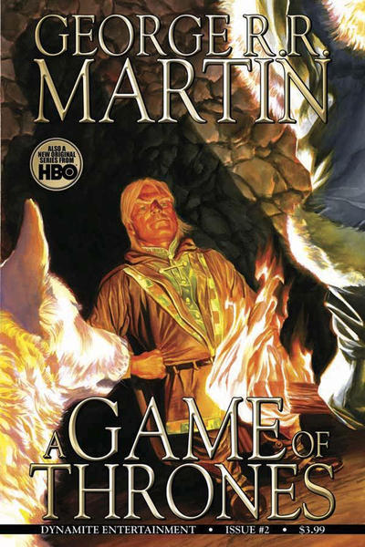 Key Issue cover 2 for GAME OF THRONES