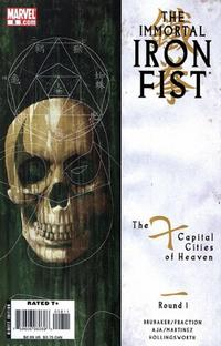 Key Storyline cover 4 for IRON FIST