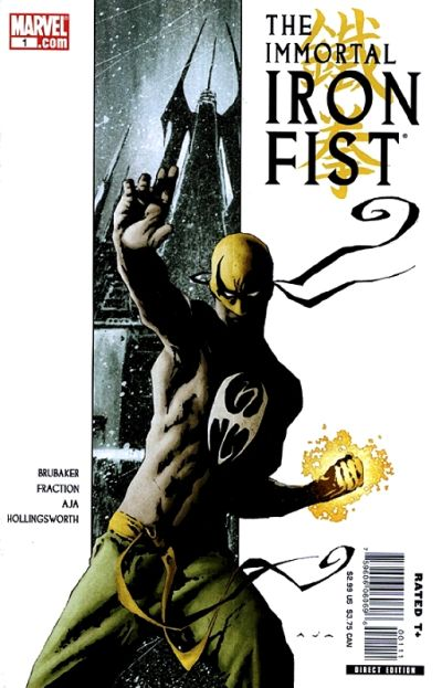 Key Issue cover 4 for IRON FIST