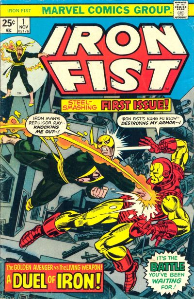Key Issue cover 2 for IRON FIST