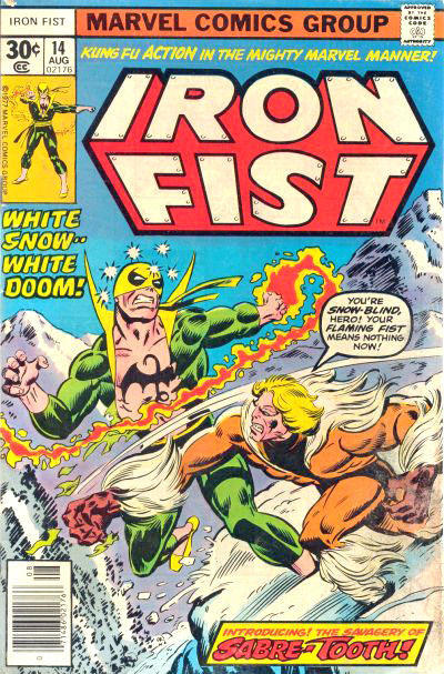 Key Issue cover 3 for IRON FIST