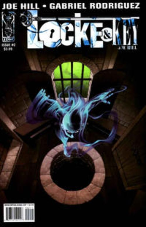 Key Issue cover 2 for LOCKE AND KEY