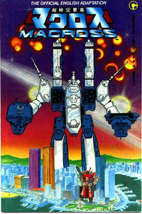 Key Issue cover 1 for ROBOTECH