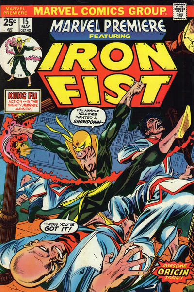 Key Issue cover 1 for IRON FIST