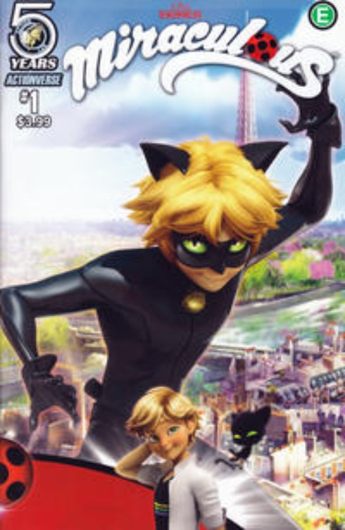 Key Issue cover 2 for MIRACULOUS (LADYBUG AND CAT NOIR)