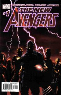 Key Storyline cover 3 for AVENGERS