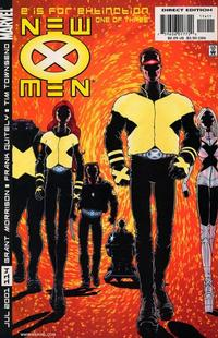 Key Storyline cover 3 for X-MEN