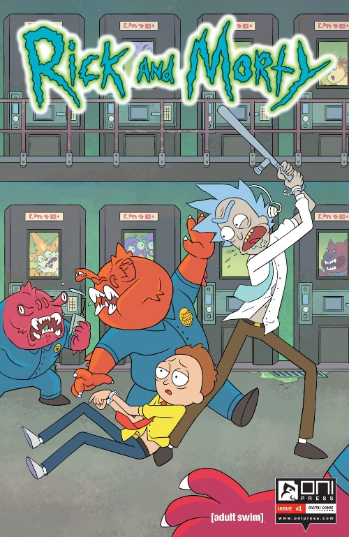 Key Issue cover 1 for RICK AND MORTY