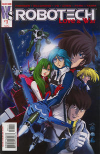 Key Storyline cover 3 for ROBOTECH