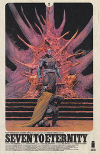 Key Issue cover 2 for SEVEN TO ETERNITY