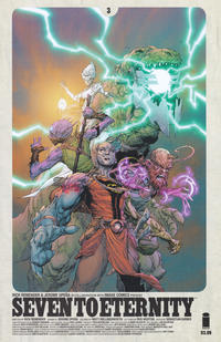 Key Issue cover 3 for SEVEN TO ETERNITY