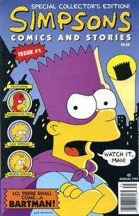 Key Issue cover 1 for SIMPSONS
