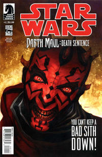 Key Storyline cover 2 for DARTH MAUL