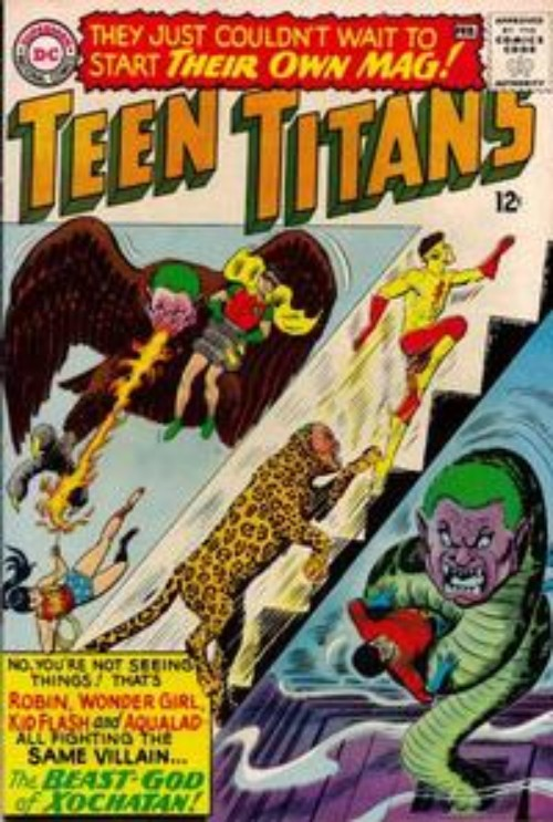 Key Issue cover 1 for TEEN TITANS