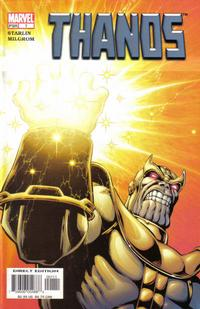 Key Storyline cover 3 for THANOS