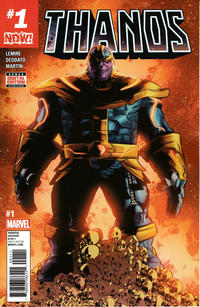 Key Issue cover 4 for THANOS