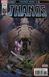 Key Storyline cover 4 for THANOS