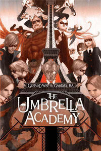 Key Issue cover 2 for UMBRELLA ACADEMY