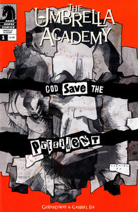 Key Issue cover 3 for UMBRELLA ACADEMY