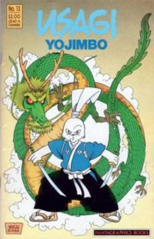 Key Storyline cover 1 for USAGI YOJIMBO