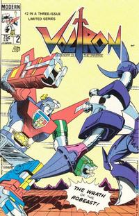 Key Issue cover 2 for VOLTRON