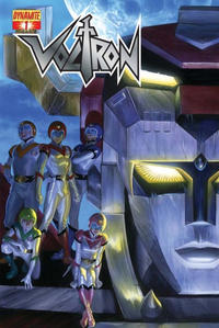 Key Storyline cover 2 for VOLTRON