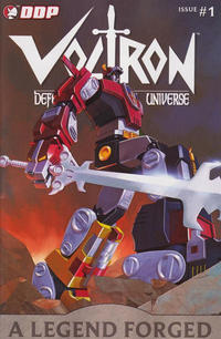 Key Storyline cover 3 for VOLTRON