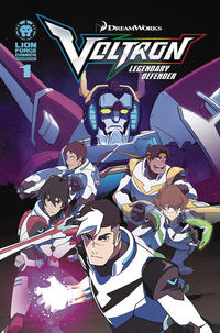 Key Storyline cover 4 for VOLTRON