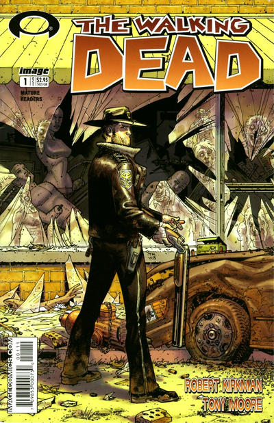 Key Issue cover 1 for WALKING DEAD
