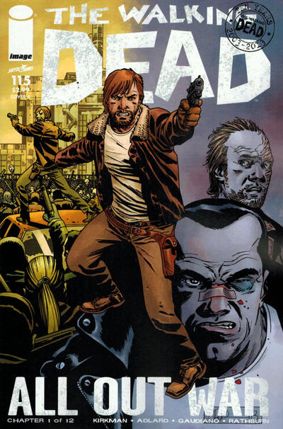 Key Issue cover 4 for WALKING DEAD