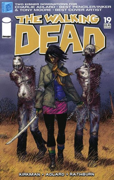 Key Issue cover 2 for WALKING DEAD
