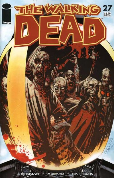 Key Issue cover 3 for WALKING DEAD