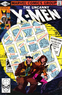 Key Storyline cover 1 for X-MEN