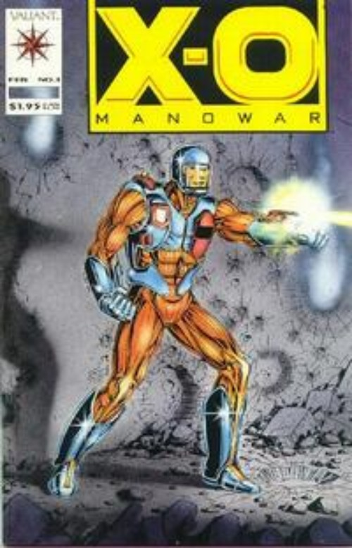 Key Storyline cover 1 for X-O MANOWAR