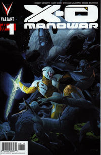 Key Storyline cover 2 for X-O MANOWAR