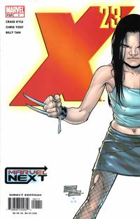Key Storyline cover 1 for X-23 (LAURA KINNEY)