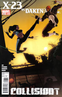 Key Storyline cover 4 for X-23 (LAURA KINNEY)