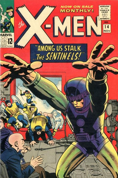 Key Issue cover 1 for X-MEN