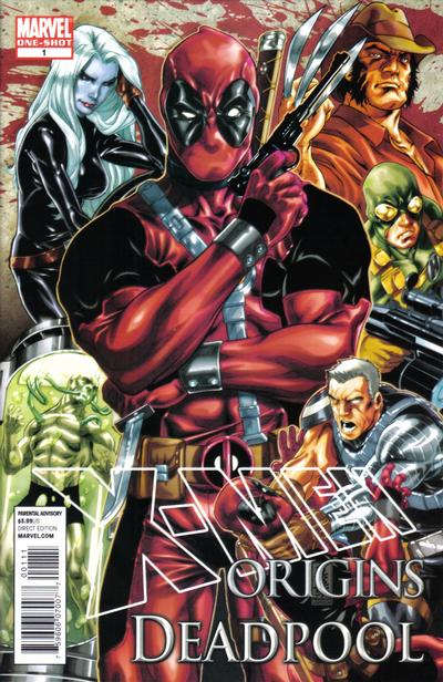Key Issue cover 4 for DEADPOOL