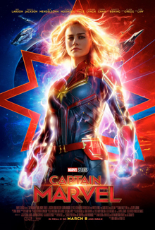 Media source material cover for CAPTAIN MARVEL (CAROL DANVERS)