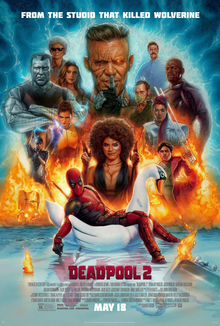 Media source material cover for DEADPOOL