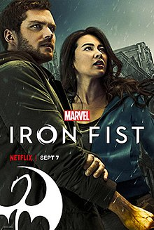 Media source material cover for IRON FIST