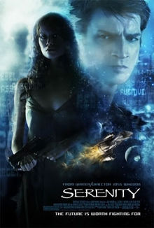 Media source material cover for SERENITY (FIREFLY)