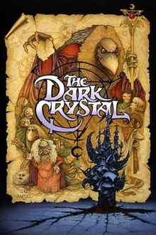 Media source material cover for DARK CRYSTAL