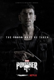 Media source material cover for PUNISHER