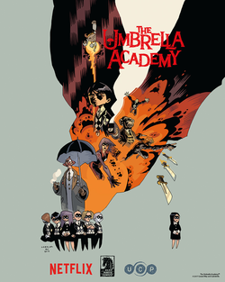 Media source material cover for UMBRELLA ACADEMY
