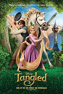 Media source material cover for TANGLED