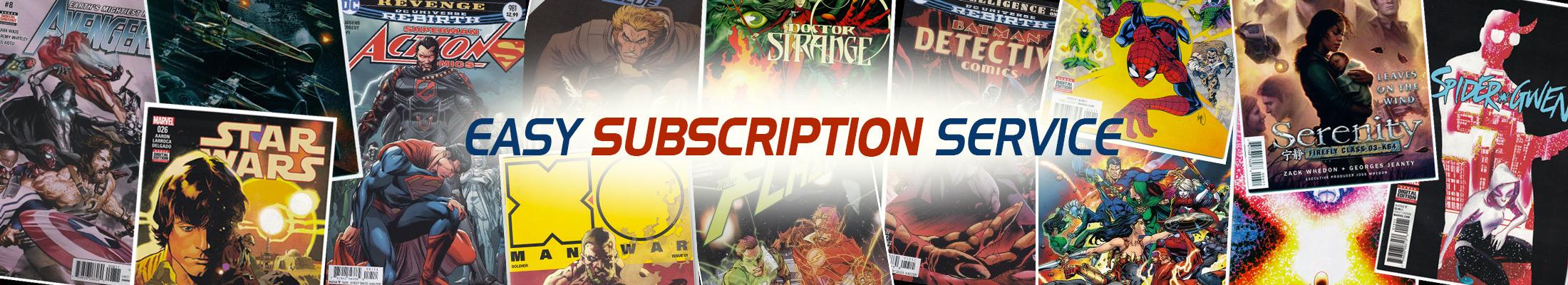 Spiral Comics Subscriptions